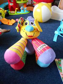 Lamaze Doggie With Horn feet
