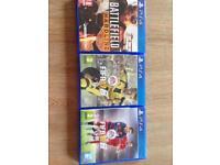 PS4 video game bundle