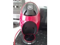 Red nescafe dolce gusto coffee machine looking for 55 or ono have bix and instructions