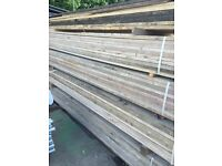 Reclaimed used scaffold boards ideal for furniture etc £7.50 3.9m, 13ft
