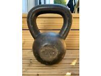 16kg Cast Iron Kettlebell, Jordan Fitness, gym grade
