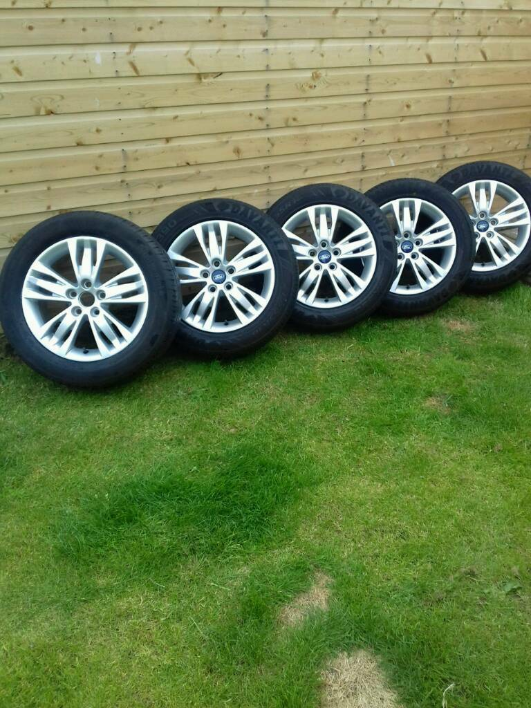 "Excellent set of 5 genuine Ford 16"" alloys"