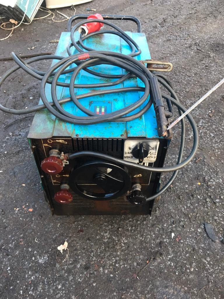 400 amp MMA arc welding machine 3 & single phase | in East Linton ...