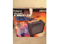 Roland Cube 30 guitar amp