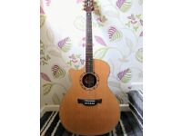 Crafter LEFT handed acoustic guitar
