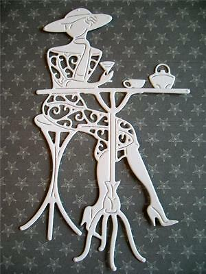 New Tattered Lace Die Cuts  WATCHING THE WORLD GO BY. Sixties/Lady/Sister/Mother