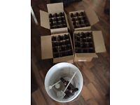 Beer brewing kit - includes fermentation vessel and 50 resealable glass bottles