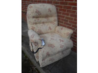 Sherborne electric riser recliner chair. Delivery available