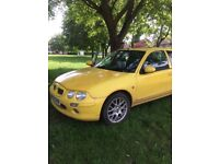 Yellow MG ZR - £250 ono