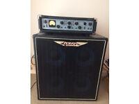Ashdown EVO III 500 Bass Head + ABM 410T II Cabinet