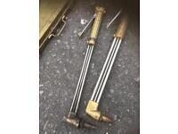 Gas welding torch