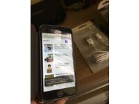 I phone 6 128GB Unlocked free charger good condition