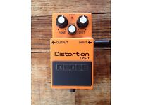 Boss DS-1 Distortion Pedal.