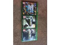 Xbox one 1tb with 3 games and tritton headset