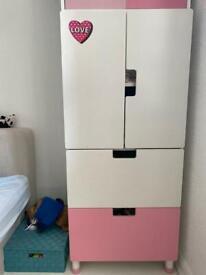 Ikea Stuva wardrobe for girls