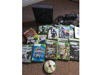 Xbox 360. 20 games. Turtle beach headset. £50
