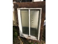 Original Cast Iron Victorian Skylight Window