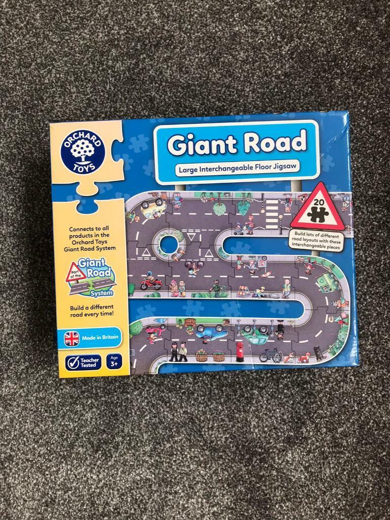 Orchard Toy Giant Road | in Livingston, West Lothian | Gumtree