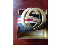 New gucci mens belt for nice cristmass gift