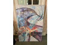 Extra large canvas, 122cm x 81cm, modern