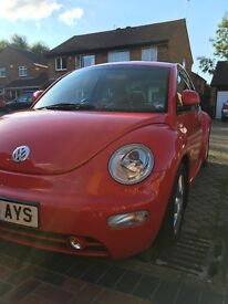 Red VW Beetle 1.8 Turbo 2003