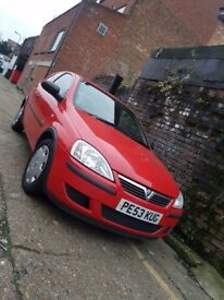 Vauxhall Corsa 1.0 2004 RED Very good condition!! Very clean