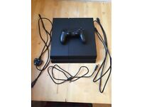 Like new PS4 with 6 games