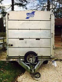 IFOR Williams DP120 Sheep Trailer