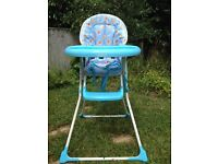 High Chair Mothercare
