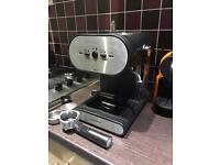 Cookworks Signature Coffee Machine with frother and steamer