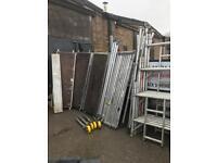 Boss aluminium scaffold tower