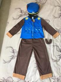 Chase costume 3-4 years