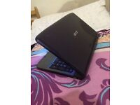 acer laptop like brand new 15.6 inch wide 4g ram win 10 ms office excellent condition and wor