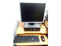Dell Desktop PC - (Windows 10) - 19' inch Branded Monitor - Dual Core – 2 GB RAM - WiFi - 160GB HDD