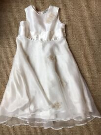 Pretty girl's bridesmaid's dress, Next, age 3-4, barely worn.
