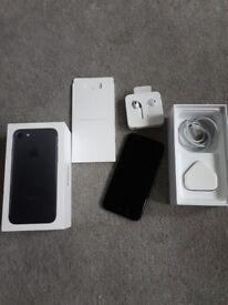 Iphone 7 128gb matte black excellent condition