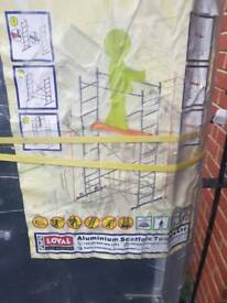 Brand new Loyal DIY 4 Scaffold tower