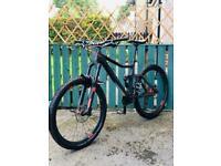 Carbon Cube Stereo 160 Super Full suspension mountain bike mtb downhill bike dh bike