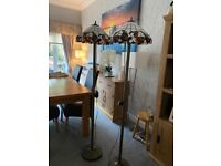 Vintage style standing lamps