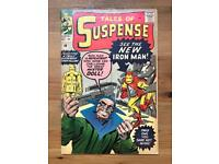 Tales of Suspense 48 - First Red and Gold Iron-Man