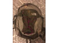 North Face backpack, excellent condition