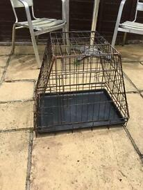 Small dog cage crate