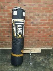 5ft Heavy Punch Bag & Bracket