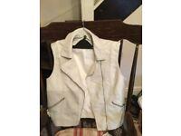 Women's Imitation Leather Waistcoat