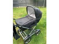 Silvercross Sleepover Pram/ car seat