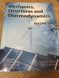 Engineering Mechanics, Structures and Thermodynamics volume 2