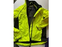 waterproof biking jacket gloves cycling shorts and tops age 7-9 unisex