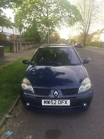 renault clio for sale 2003