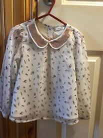 Girls age 3-4 years blouses bundle