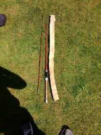 Antique fishing rod, cane.